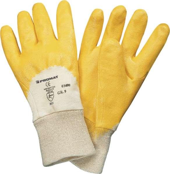 Handschuhe Lippe Gr.10 gelb