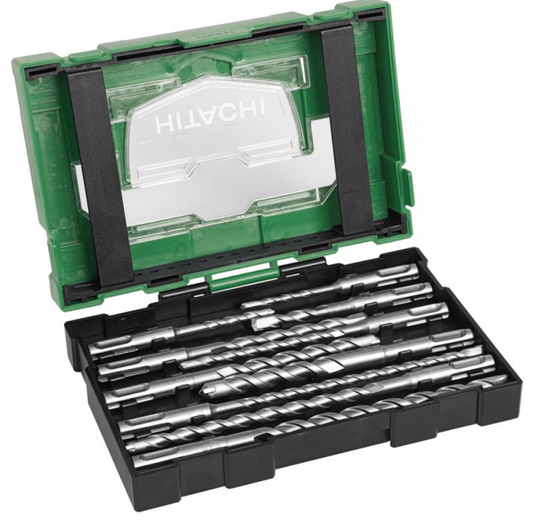 Hikoki Hitachi SDS-plus Bohrer Set 10 tlg. (Box III)
