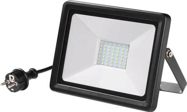 LED-Strahler 50W 3660 lm 2m H05RN-F 3x1 mm² IP65 PROMAT