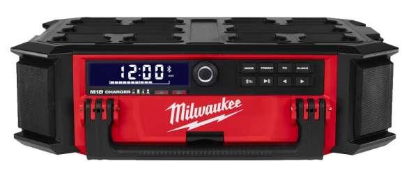 Milwaukee Akku-Netz- Baustellenradio PACKOUT M18 PRCDAB+-0