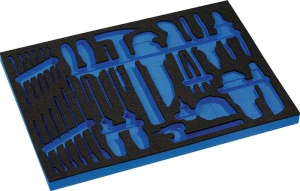 Werkzeugmodul Leereinlage 3/3-Modul 4000871255,44-tlg.PROMAT