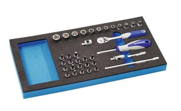 Werkzeugmodul 36-tlg.1/3-Modul Steckschlü.PROMAT
