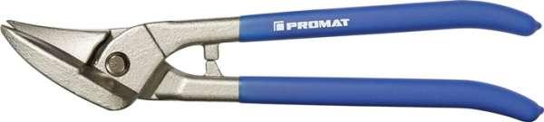 Idealblechschere L.260mm li.STA max.0,8mm VA max.0,45mm PROMAT