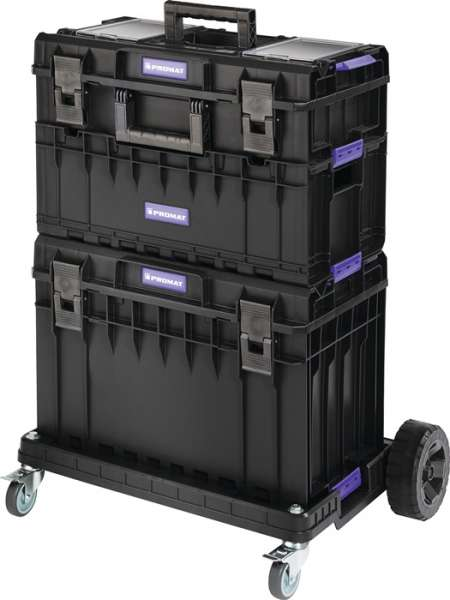 Werkzeugkofferset Außen-B745xT510xH1027mm Polycarbonate Deckel PROMAT