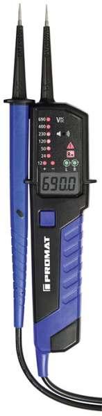 Spannungs-/Durchgangsprüfer 12-690 V AC/DC