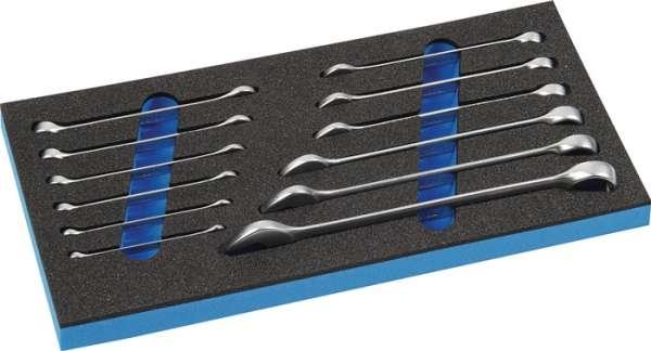 Werkzeugmodul 12-tlg.1/3-Modul Schlüsswelweiten 6-22mm PROMAT