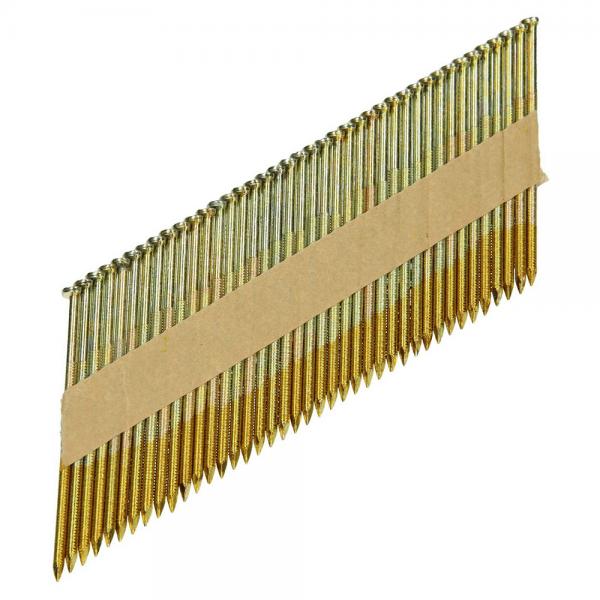 3 Pack Streifennägel 34° 2,8 x 63 mm, gerillt, verzinkt 12 µm + 5 Pack Streifennägel 34° 3,1 x 90 mm