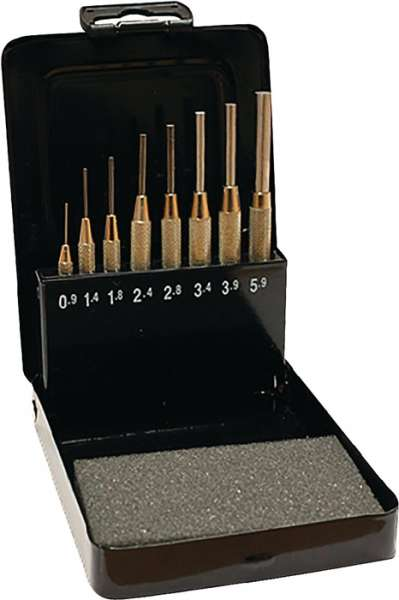 Splintentreibersatz 8tlg.0,9-5,9 Metallkassette Promat
