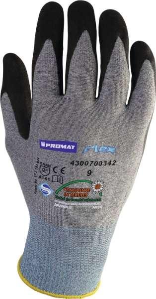 Handschuhe Flex N Gr.10 grau/schwarz EN