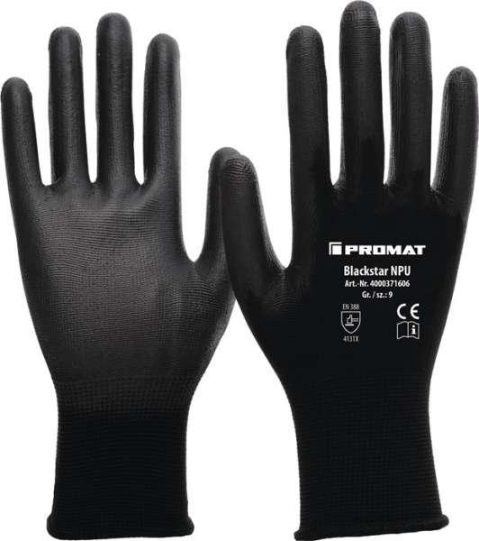 Handschuhe Blackstar NPU Gr.7 (M)