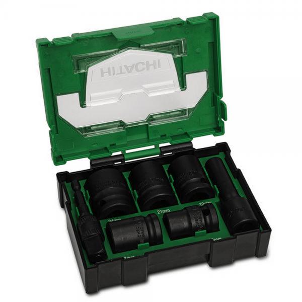 Hikoki Hitachi Kraftstecknuss Box 7tlg in Box II