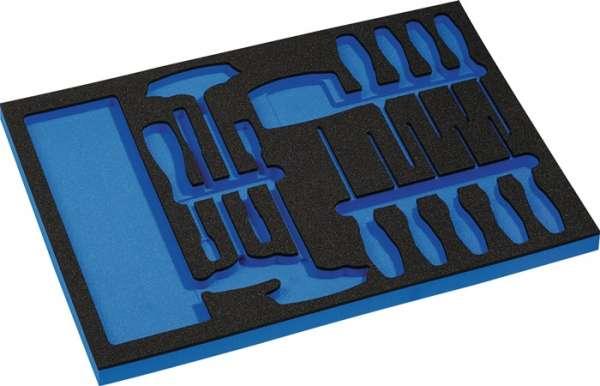 Werkzeugmodul Leereinlage 3/3-Modul 4000871256,37-tlg.PROMAT
