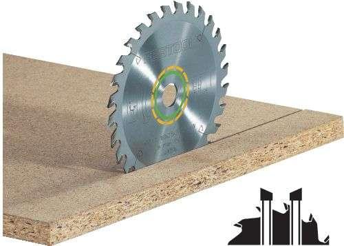 Festool Universal-Sägeblatt 160x2,2x20 W28 Durchmesser 160 mm; Schnittbreite 2.2 mm; Bohrungs-Ø 20 m