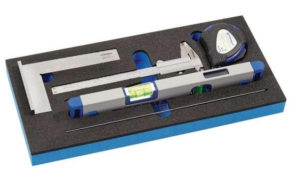 Werkzeugmodul 6-tlg.1/3-Modul Messwerkzeugsatz PROMAT