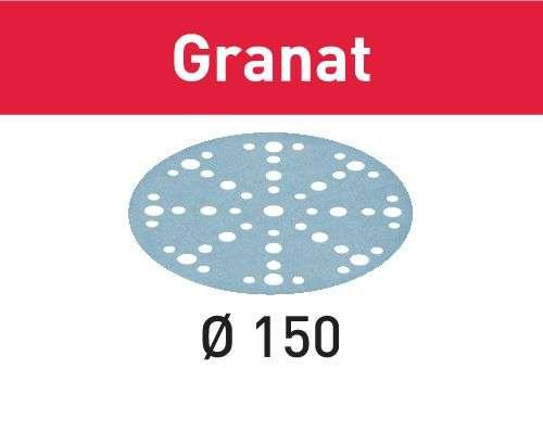 Festool Schleifscheibe STF D150/48 P80 GR/50 Granat Körnung P80; Durchmesser 150 mm