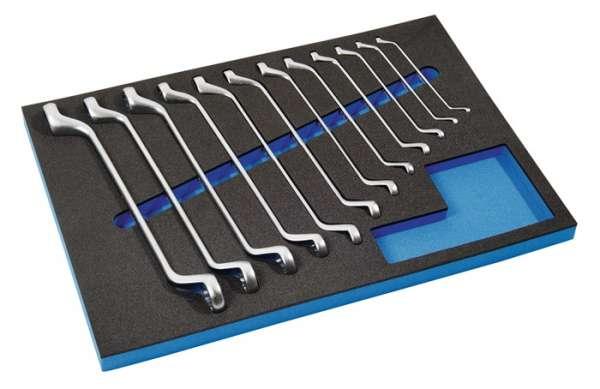 Werkzeugmodul 12-tlg.3/3-Modul Schlüsswelweiten 6x7-30x32mm PROMAT