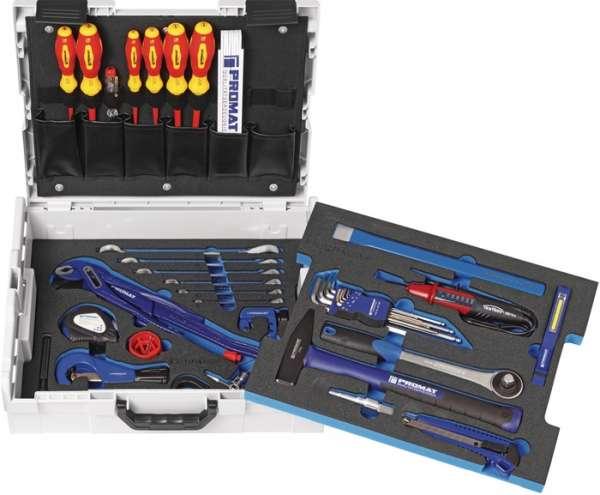 Werkzeugsortiment 40-tlg.L-Boxx PROMAT