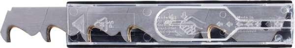 Abbrechhakenklinge L104,5xB17,7xS0,5mm Titan 3 Sollbruchstellen 10 St./Spender