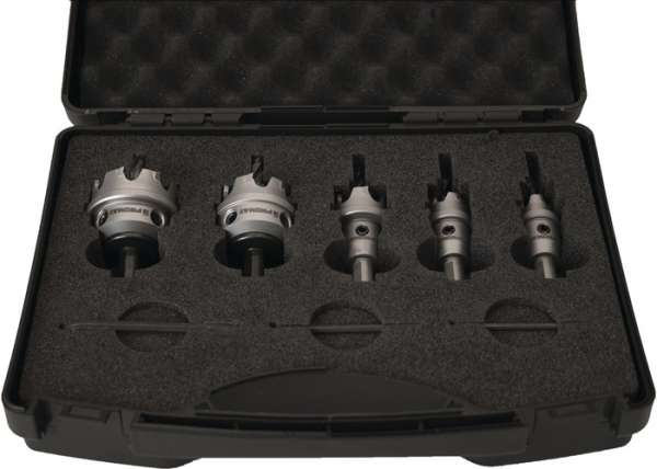 Lochsägensatz 8-tlg.16-40mm Schnitt-T.4mm HM-bestückt PROMAT