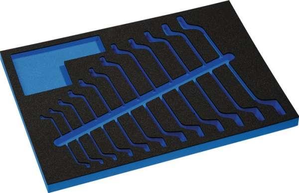 Werkzeugmodul Leereinlage 3/3-Modul 4000871233,12-tlg.PROMAT