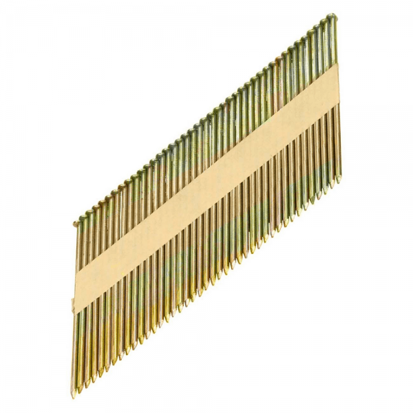 Streifennägel 34° 2,9 x 75 mm verzinkt, gerillt 12 µm Offset-Kopf