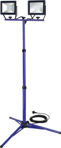 LED-Strahler 2x50W 2x3660 lm 7,5m H07RN-F 3x1,0 mm² IP65 PROMAT