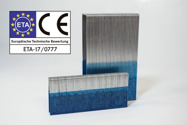 Klammern Typ KG 700 22mm galv 12my C/D Spitze