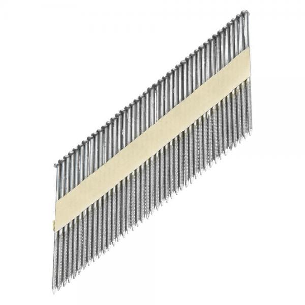 Streifennägel D-Kopf ST 34° 2,8×63 Ring, Feuerverzinkt