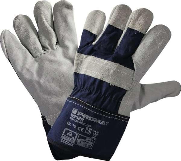 Handschuhe Weser Gr.10 blau