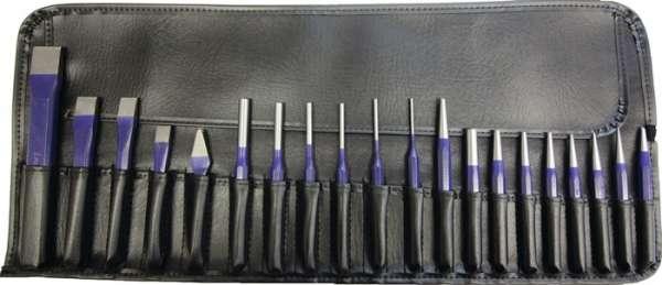Werkzeugsatz Inh.20tlg.Chrom-Vanadium-Lufthärtestahl in Rolltasche PROMAT