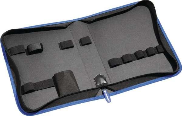 Werkzeugmappe Innen-BxTxHmm 1 Einsteckfach/11 Klettschlaufen unbestückt