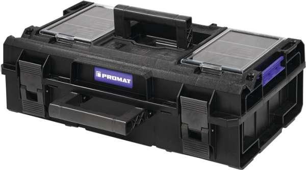 Werkzeugkoffer Außen-B585xT385xH190mm Polycarbonate Deckel 16l PROMAT