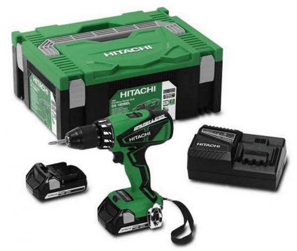 Hitachi Akku Bohrschrauber DS18DBEL 2.5Ah