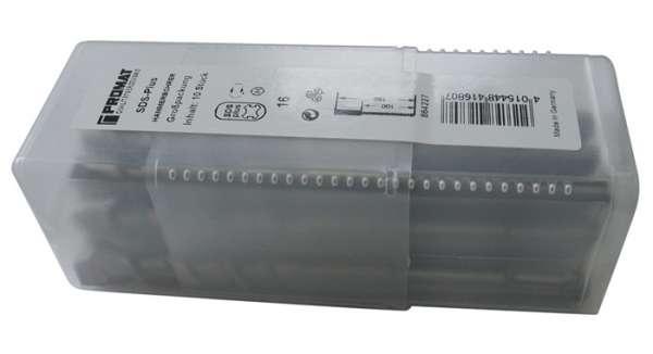 Hammerbohrer Großpackung D.10,0mm Arbeits-L.150mm L.210mm 10 St.SDS-plus PROMAT