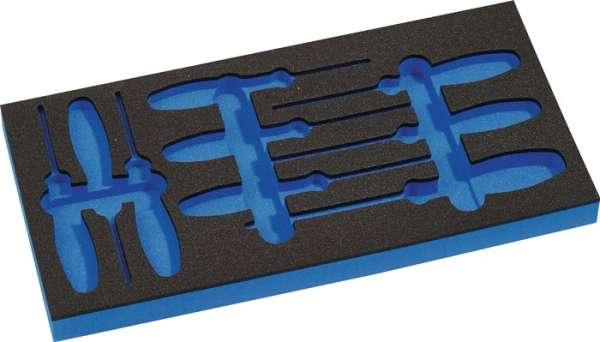 Werkzeugmodul Leereinlage 1/3-Modul 4000871239,9-tlg.PROMAT