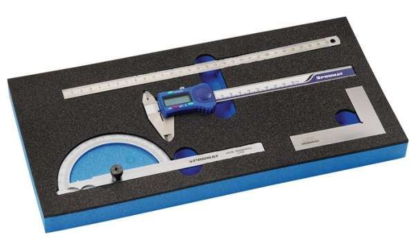 Werkzeugmodul 4-tlg.1/3-Modul Messchiebersatz PROMAT
