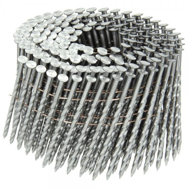 Coilnägel 16° 2,8 x 80 mm, blank, schraub