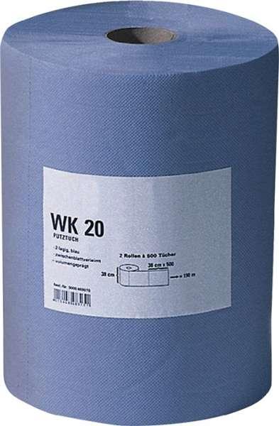 Putztuch WK 20 L380xB380ca.mm blau