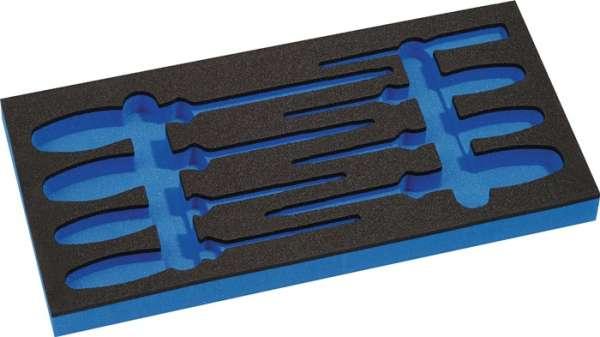 Werkzeugmodul Leereinlage 1/3-Modul 4000871240,8-tlg.PROMAT